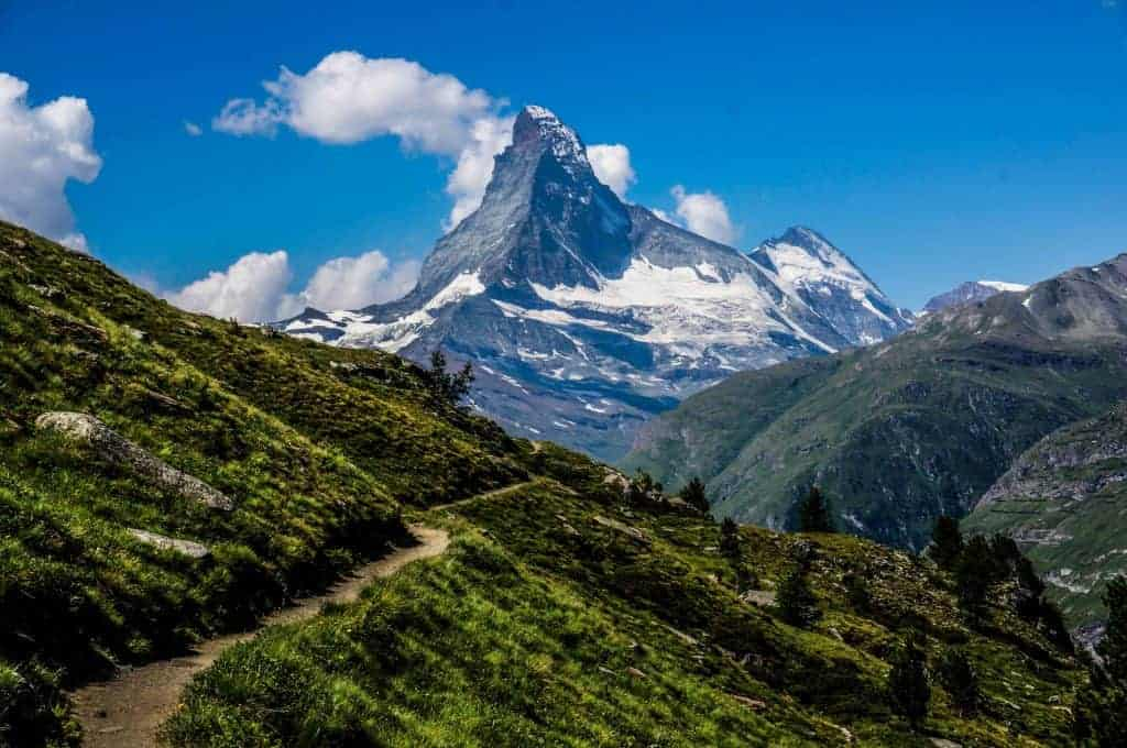 The Matterhorn near Zermatt.