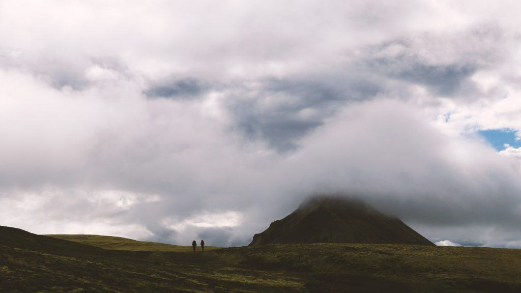 Clouds on the Laugavegur Trail