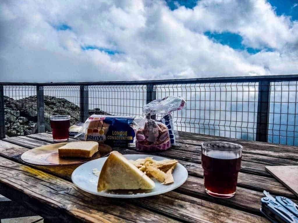 Food and drink on the GR20