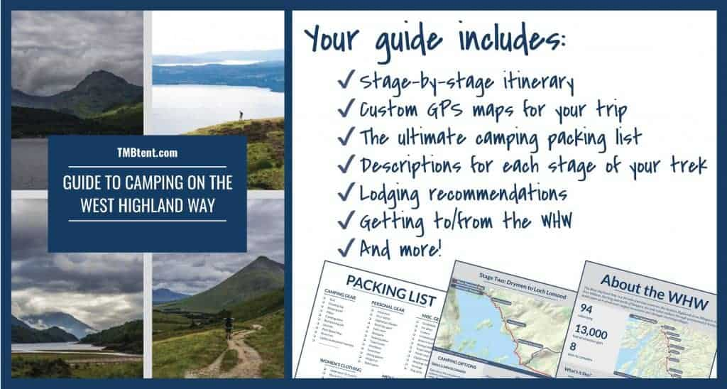 West Highland Way camping guide