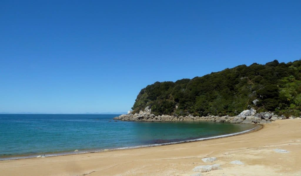 Beach along the Abel Tasman Coast Track