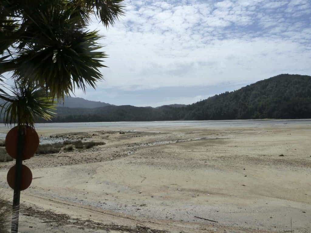 Low tide at the Awaroa Inlet