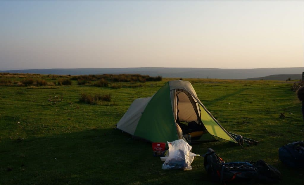 Camping on the Coast to Coast Walk