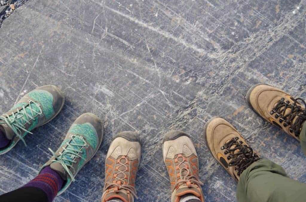 Coast to Coast Walk hiking boots