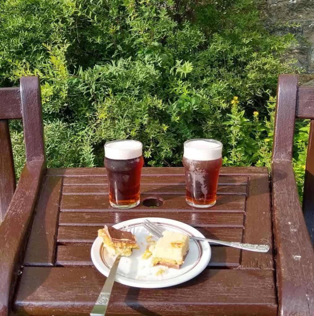 Food and drink on the Coast to Coast Walk