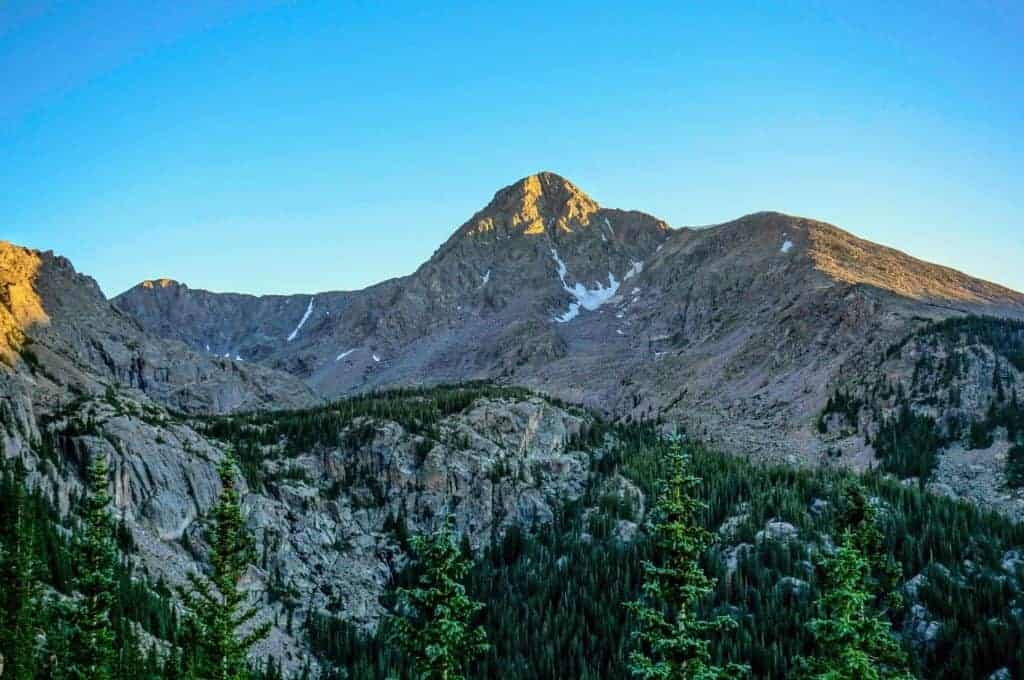 Mount of the Holy Cross from Half Moon Pass