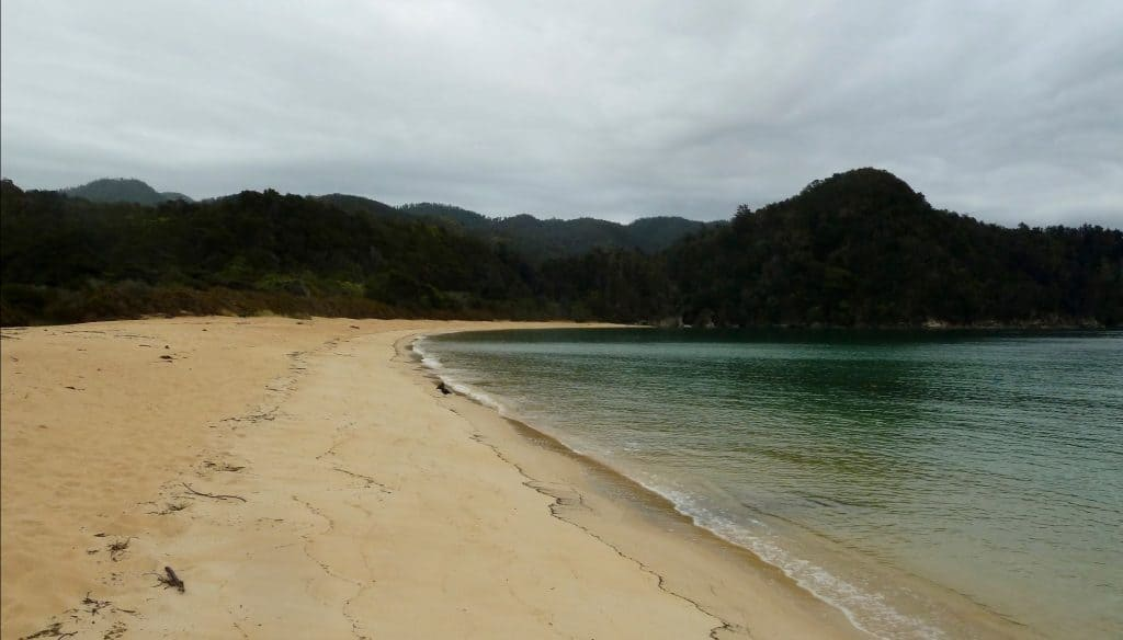 Cloudy day in Abel Tasman National Park
