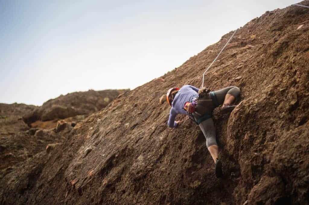 Camping near Hollister California rock climbing