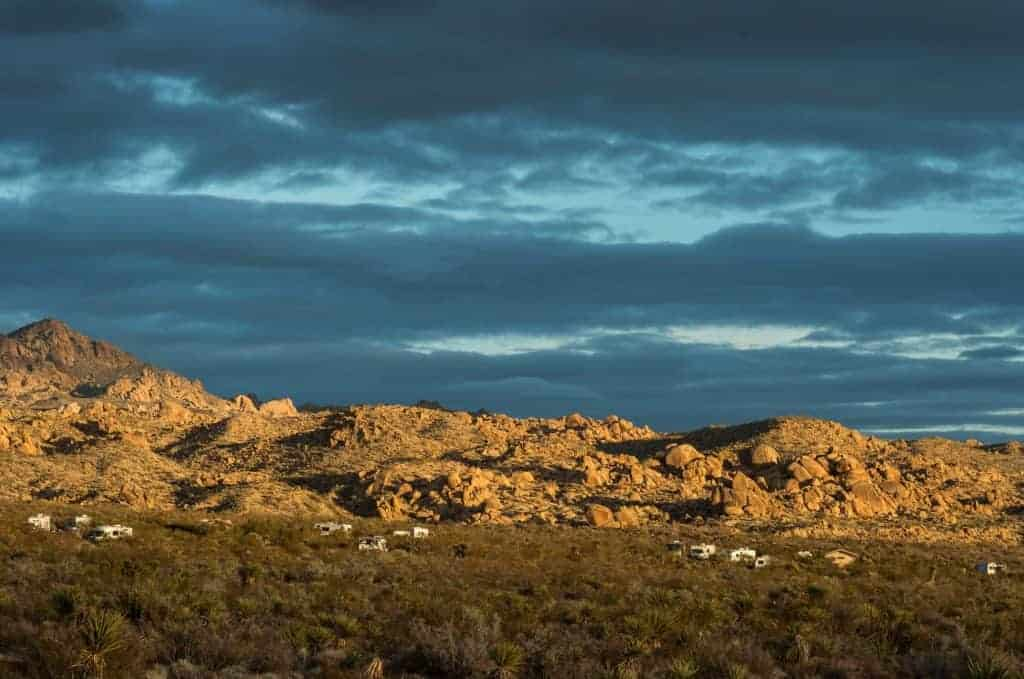 Cottonwood Campground in Joshua Tree National Park