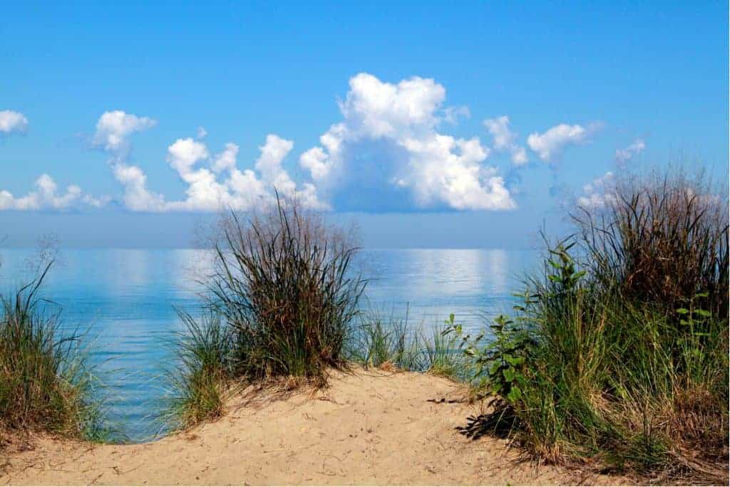 Campground at Indiana Dunes National Park