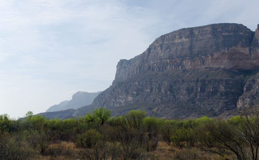 Cliff in Big Bend National Park