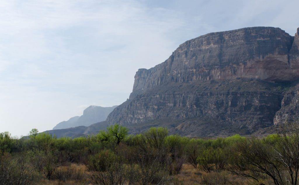 Cliff in Big Bend National Park