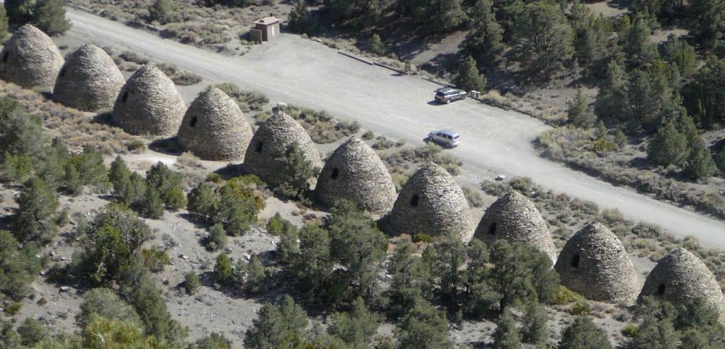 Wildrose Charcoal Kilns in Death Valley