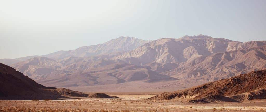 Mountains in Death Valley
