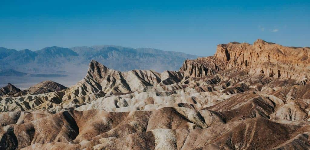 Mountains in Death Valley National Park