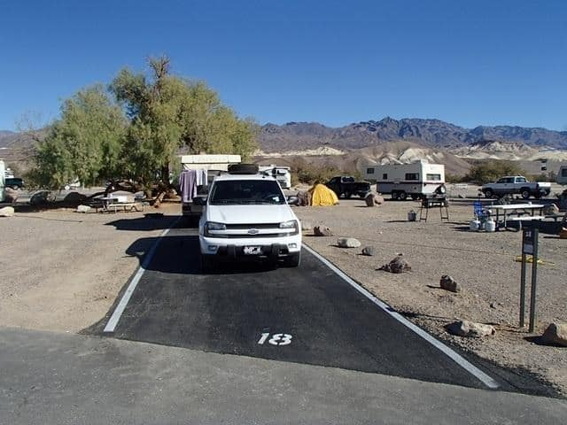 Furnace Creek Campground, Death Valley National Park