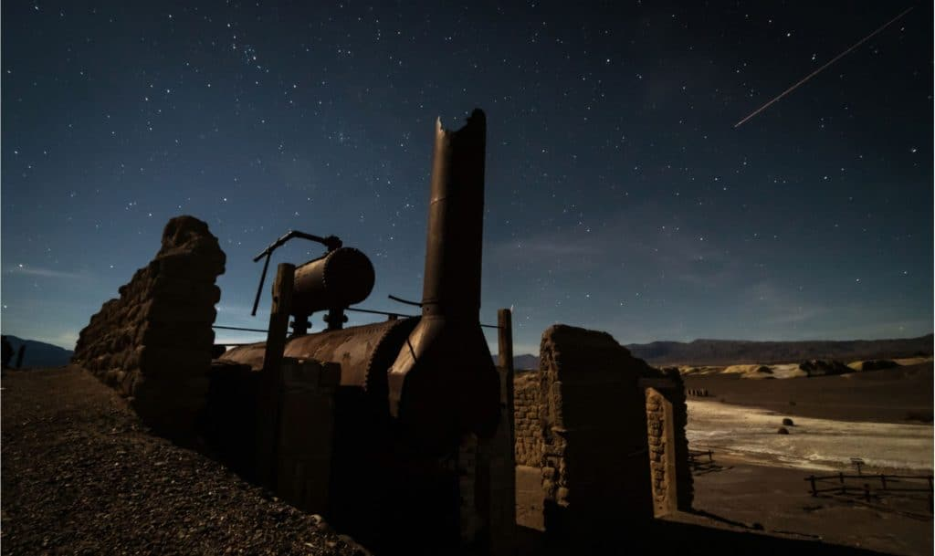 Harmony Borax Works in Death Valley