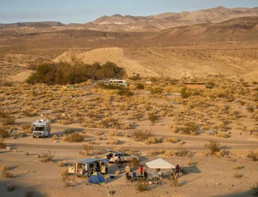 Mesquite Spring Campground, Death Valley National Park