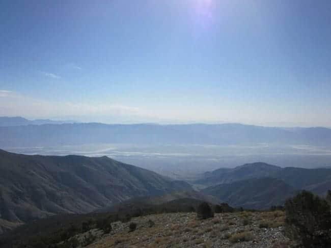 Views from Telescope Peak in Death Valley