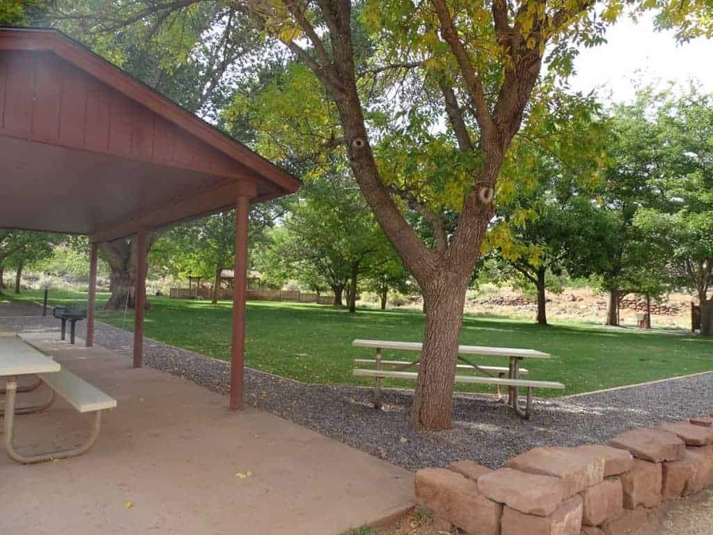 Fruita Group Campground in Capitol Reef National Park