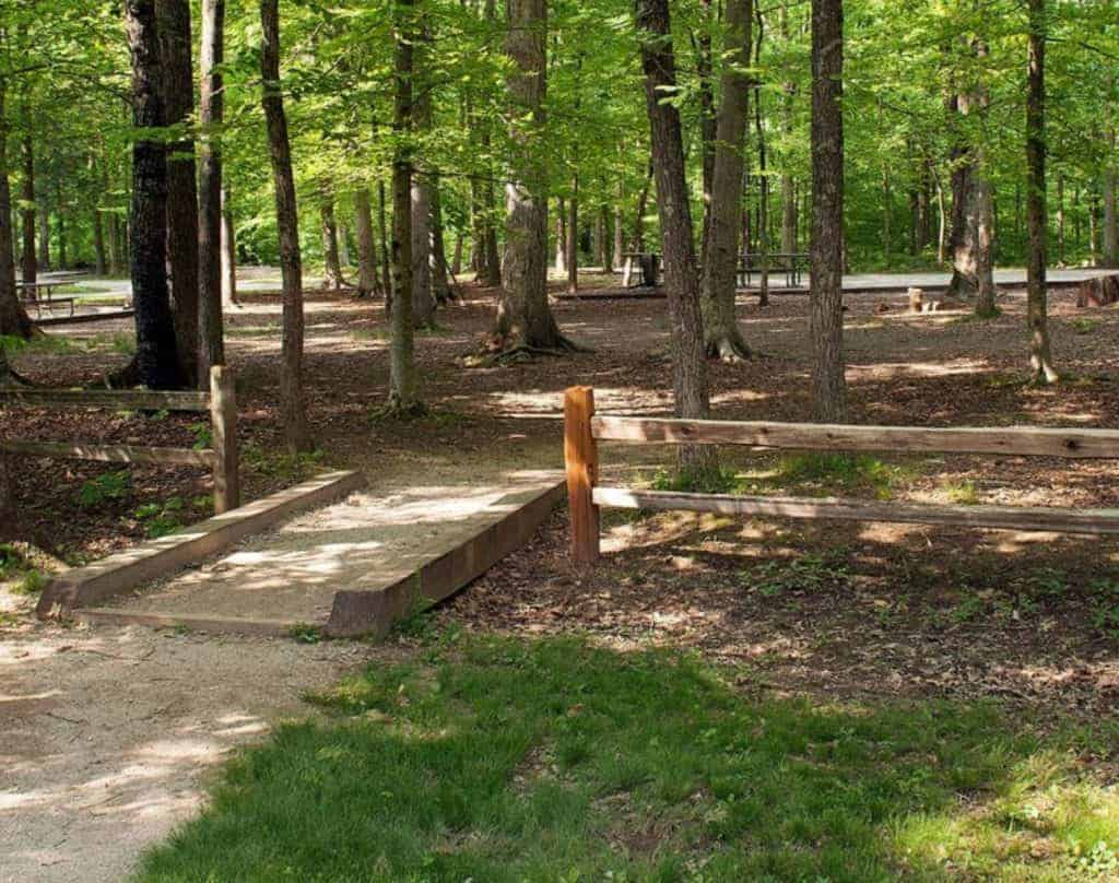 The Mammoth Cave Campground
