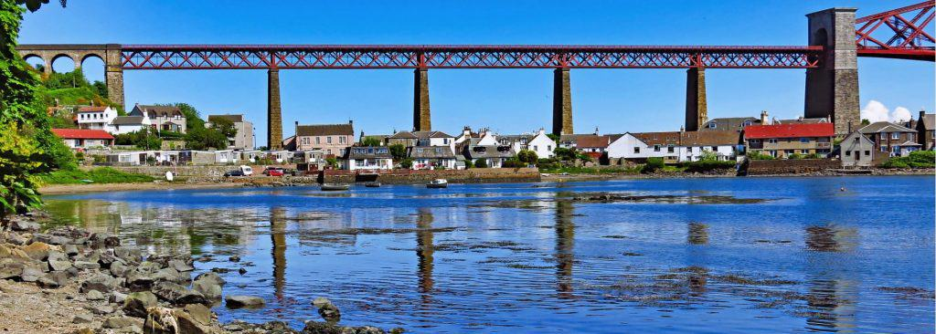 Bridge on the Fife Coastal Path