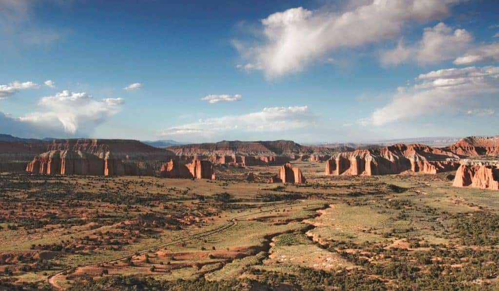 Views of the Cathedral Valley