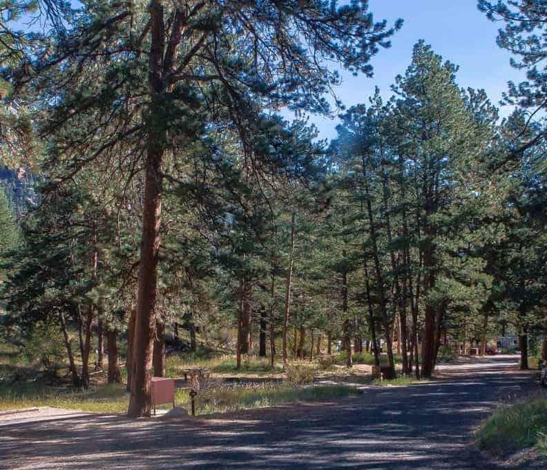 Aspenglen Campground, Rocky Mountain National Park