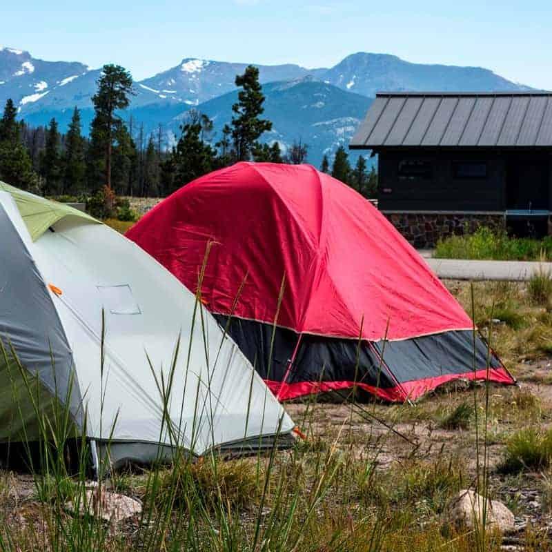Glacier Basin Campground, Rocky Mountain National Park