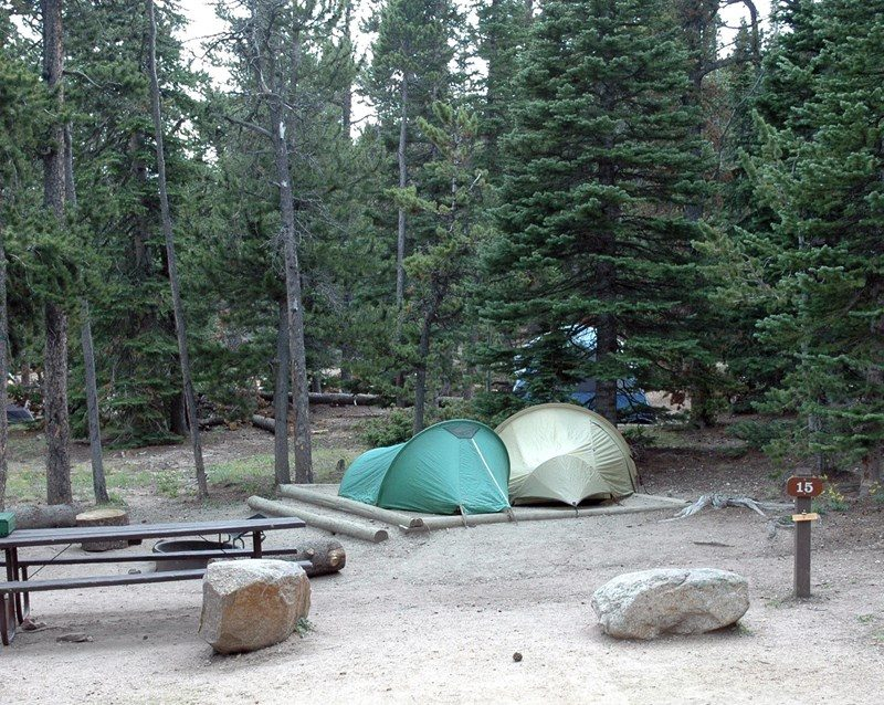 Longs Peak Campground, Rocky Mountain National Park