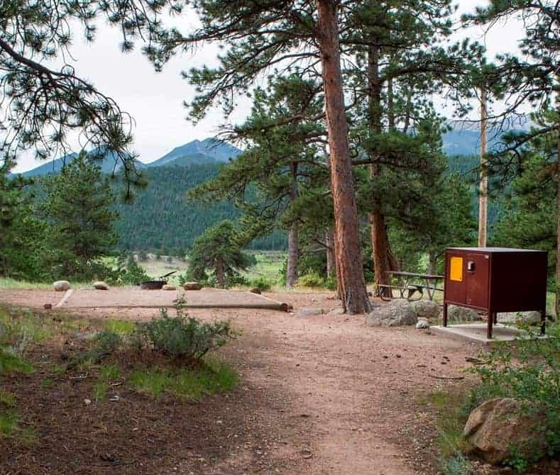 Moraine Park Campground, Rocky Mountain National Park
