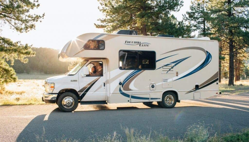 RV in Rocky Mountain National Park