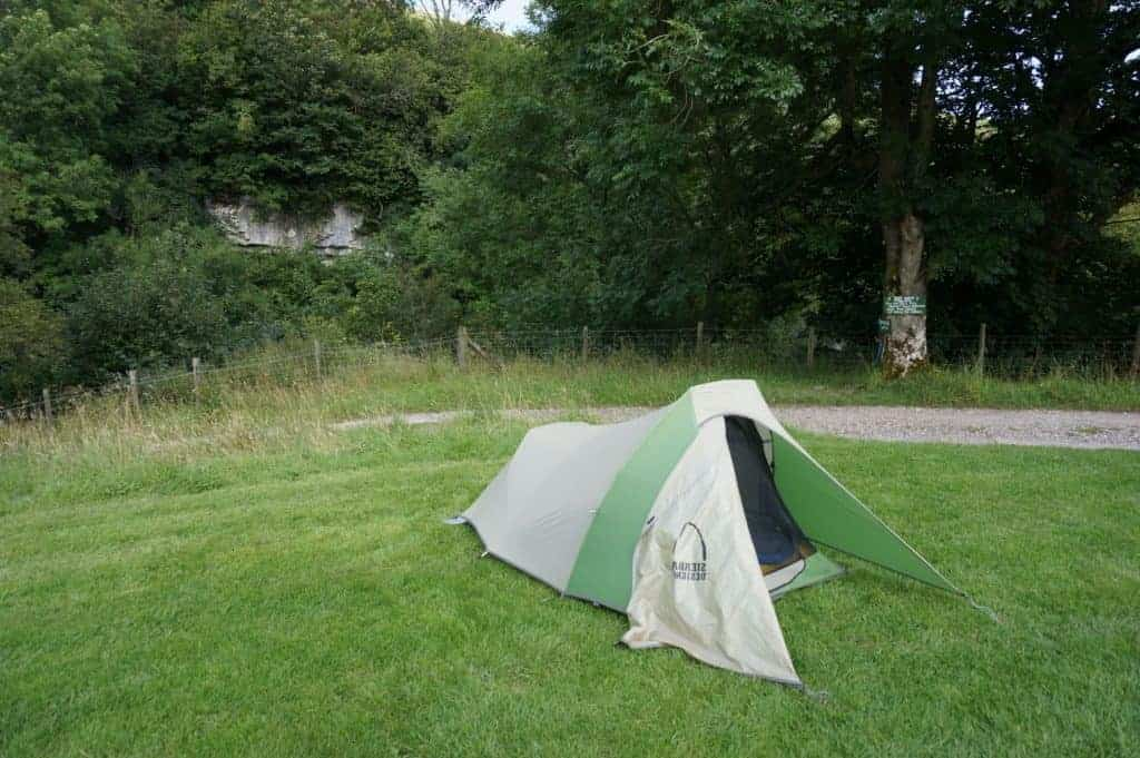 Campground on the South Downs Way