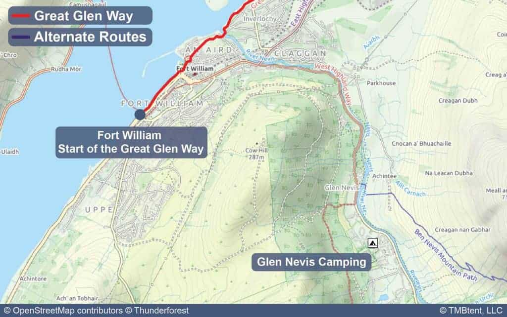 Glen Nevis Caravan and Camping park
