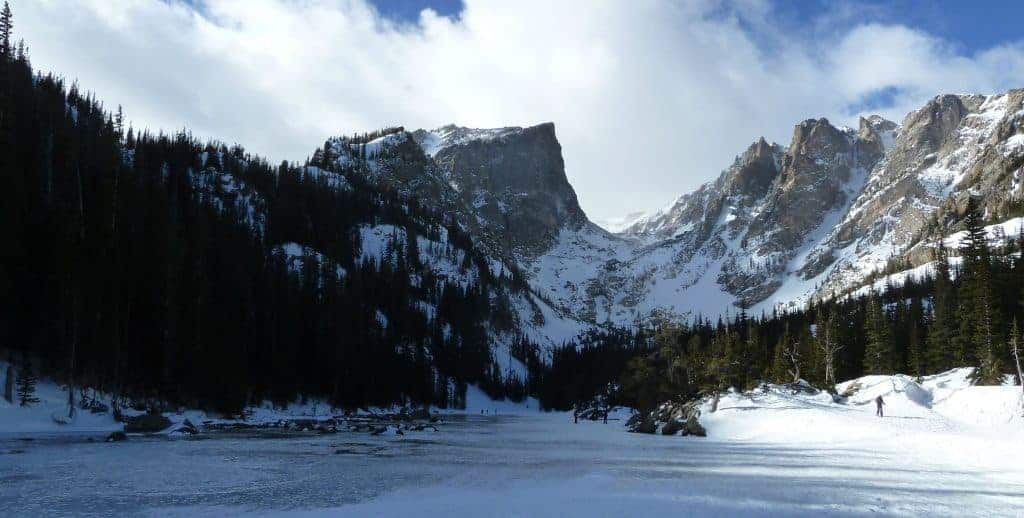 Bear Lake in the winter