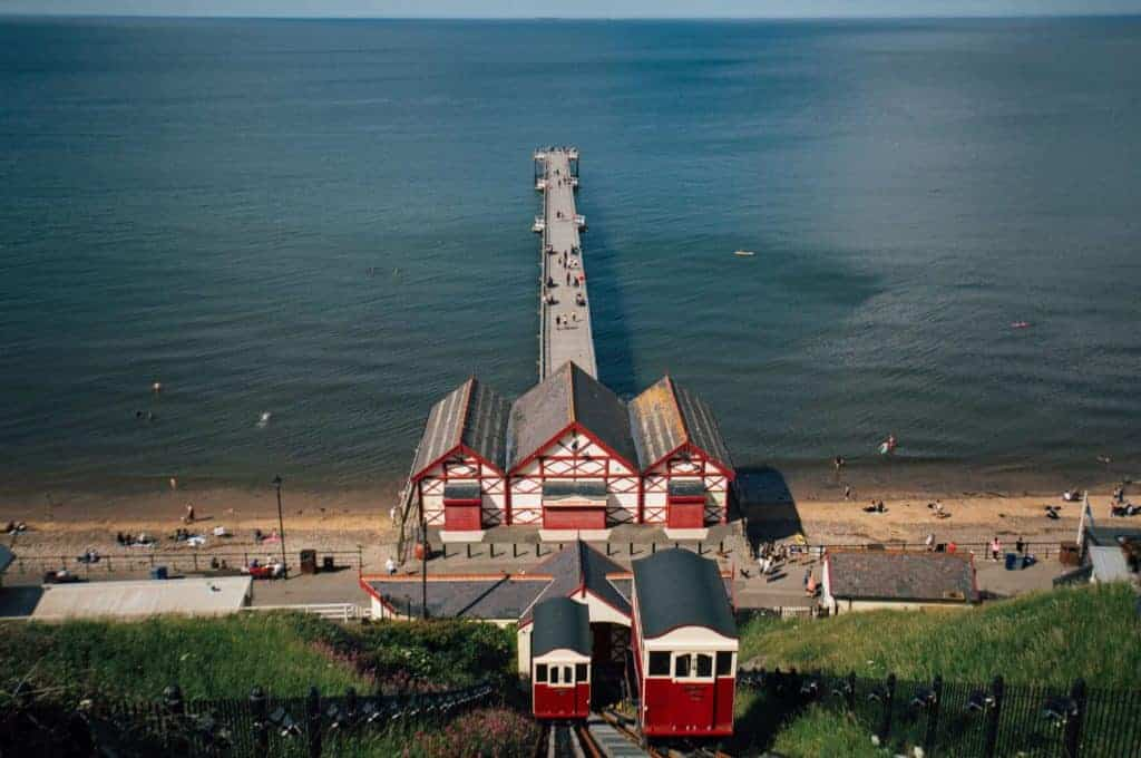 The pier in Saltburn-by-the-Sea