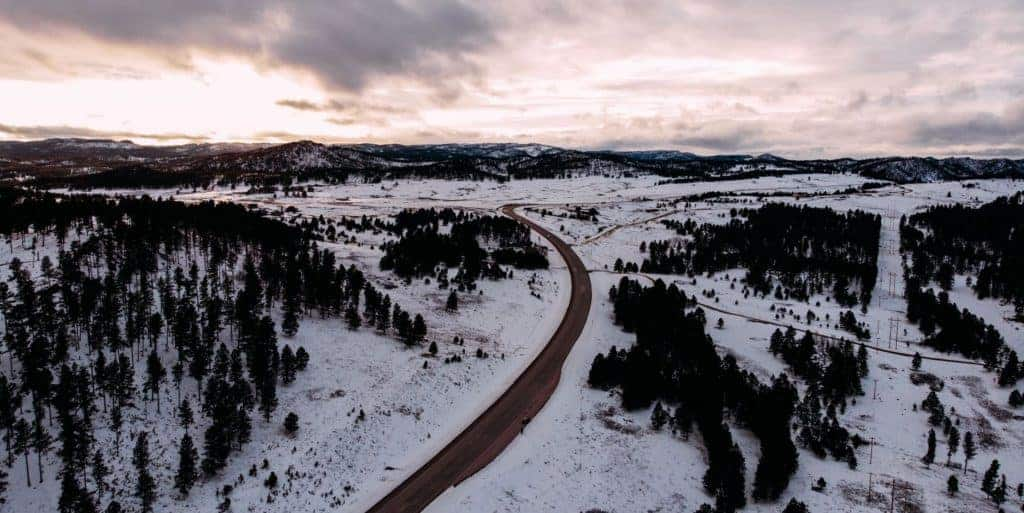Winter in Custer State Park