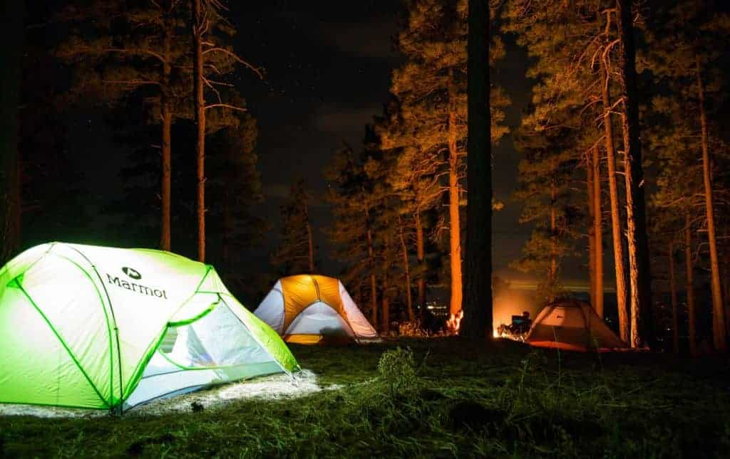 Free dispersed camping near Devils Tower National Monument.