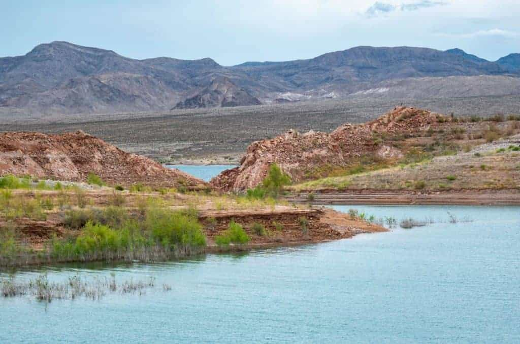 Dispersed camping Echo Bay Lake Mead