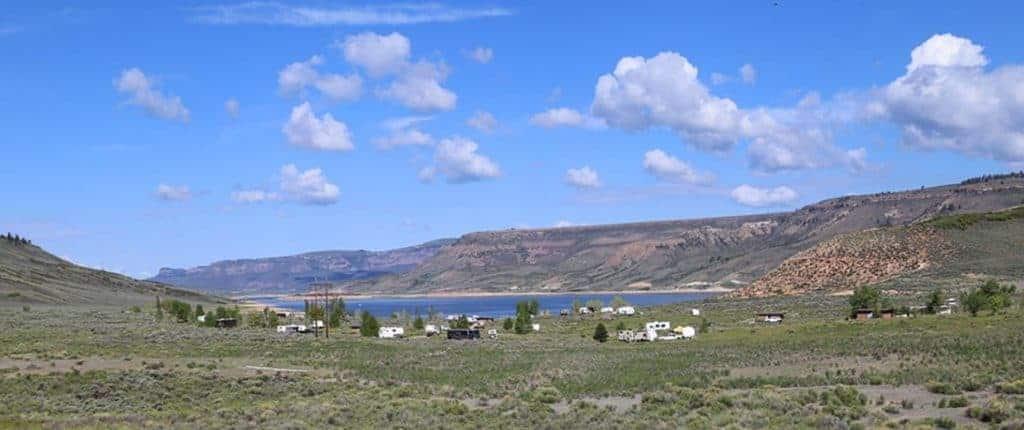 Elk Creek Campground, Blue Mesa Reservoir