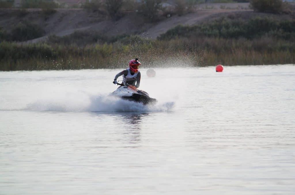 Jet ski on Lake Havasu
