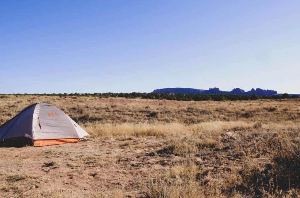 Dispersed Camping near Lake Havasu