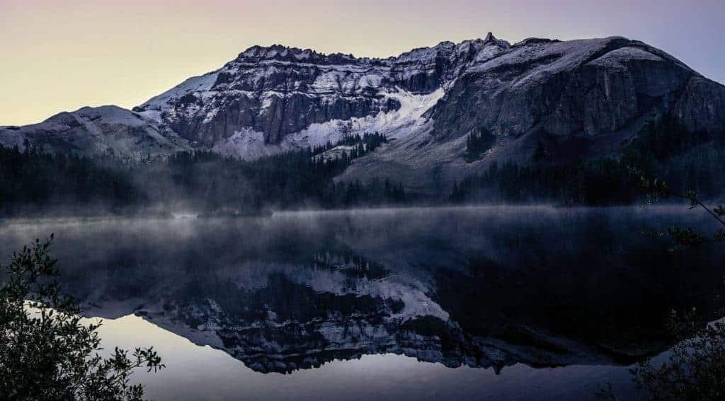 Alta Lake at sunrise, Telluride