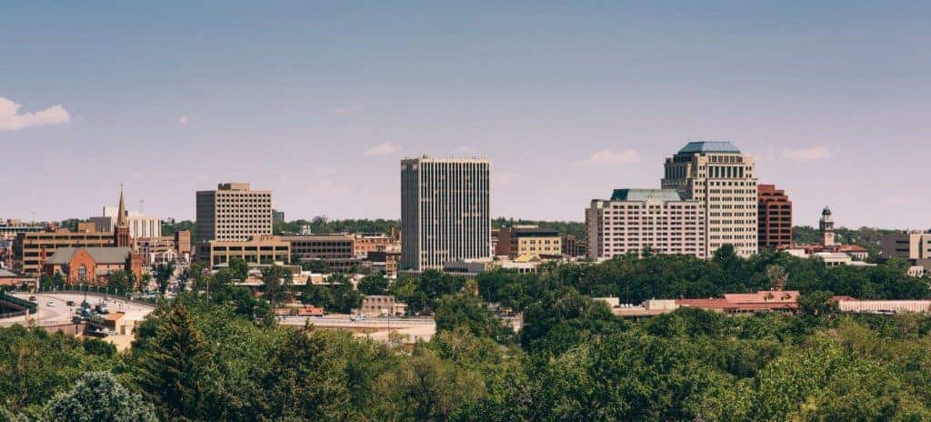 Colorado Springs skyline