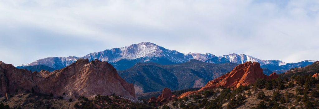 Pikes Peak from Colorado Springs