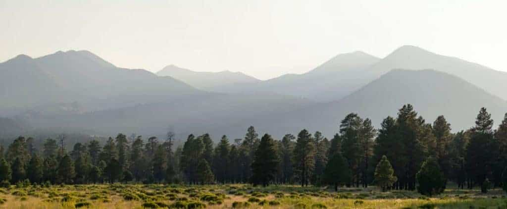 Mountains of Flagstaff, Arizona