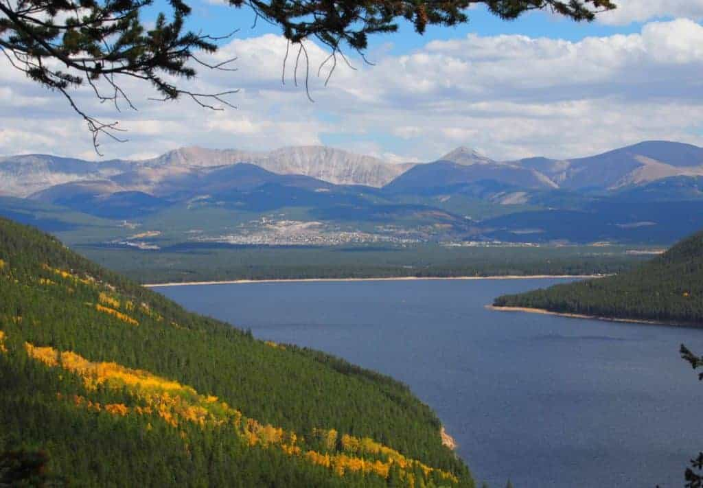 View of Leadville, CO