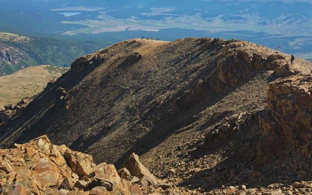 Summit of Mt. Elbert