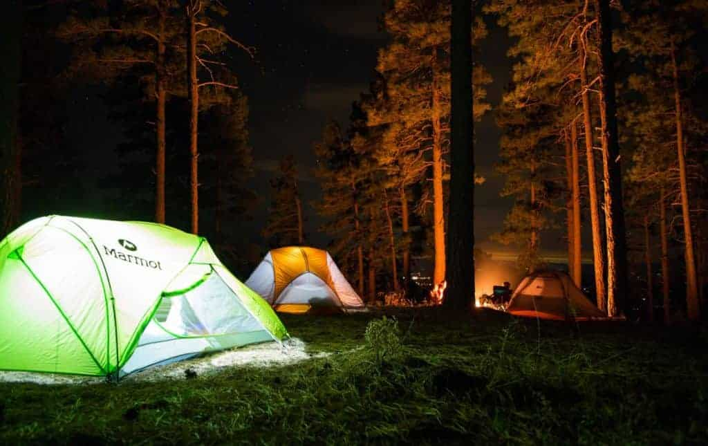 Dispersed camping near Steamboat Springs
