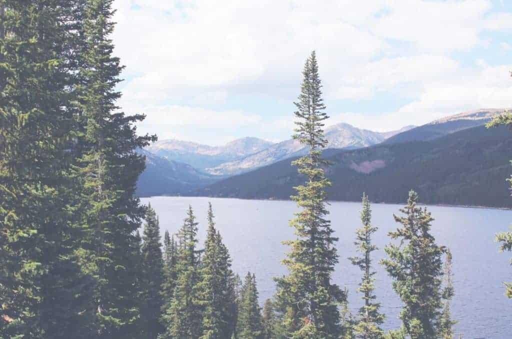 Turquoise Lake, Colorado near Leadville